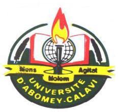 UNIVERSITE D'ABOMEY CALAVI