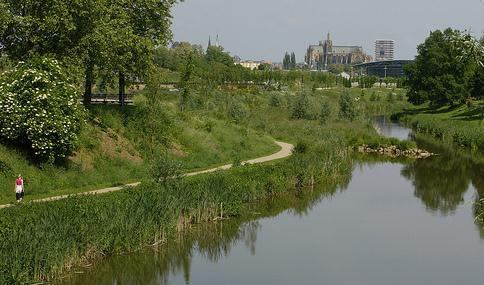 La Seille en amont de Metz