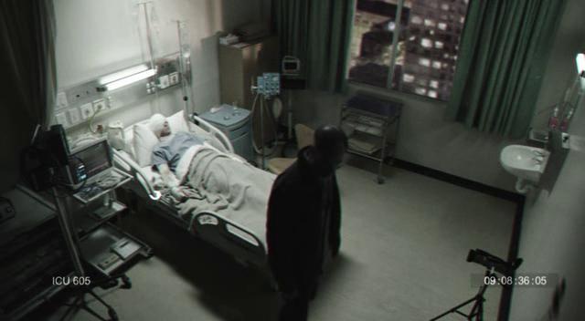 Chronicle caméra de surveillance dans une chambre d'hôpital