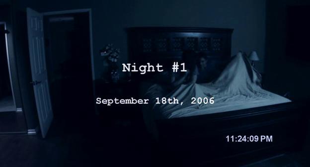 Paranormal Activity première nuit enregistrée pour Micah et Katie