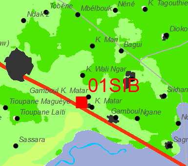 Position du profil (01 SIB)