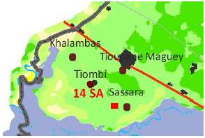 Position du profil (14 SA)