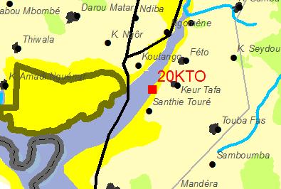 Position du profil (20 KTO)